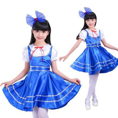 新款六一儿童合唱服演出服中小学生合唱团诗歌朗诵表演服校园服饰