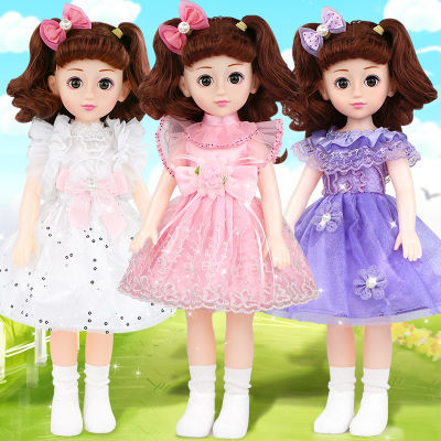 会说话的芭比娃娃婴儿童玩具智能仿真洋娃娃套装小女孩公主超大布