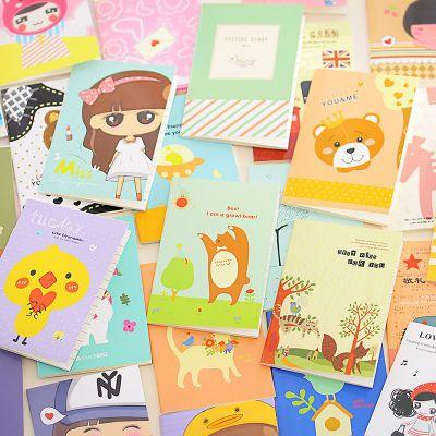 卡通记事本小本子便携小学生奖励奖品礼物可爱随身笔记本文具迷你
