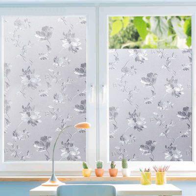 窗户贴纸透光不透明厨房浴室厕所卫生间磨砂玻璃贴纸阳台遮光贴膜