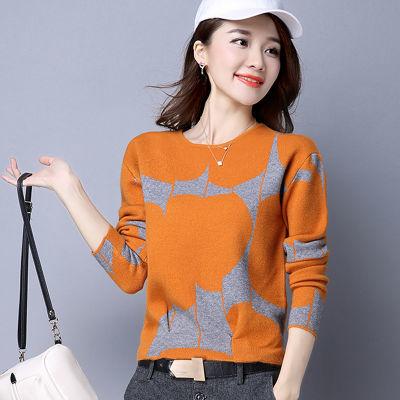 2020新款春秋装套头宽松粗毛线毛衣女韩版学生短款上衣针织衫打底