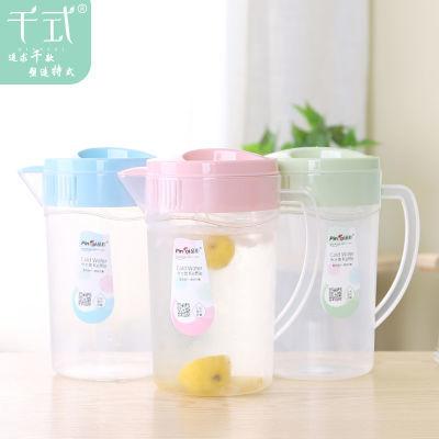 茶壶大容量百香果汁家用水杯套装冷水壶玻璃水璃装水壶火罐杯子凉