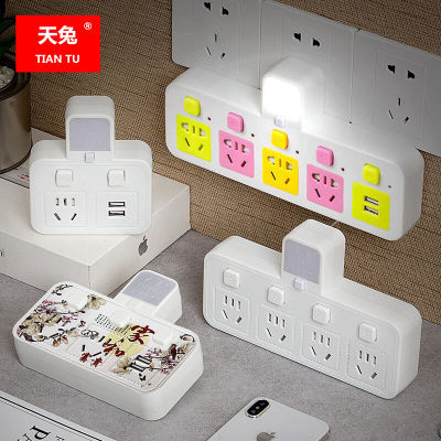 注:豪华版是双色小夜灯两档可调小夜灯。其他只有一个颜色小夜灯 全新升级带安全儿童防触电安全保护门。颜色: 彩色 白色可选 本品多规格,请购买时候按自己所需拍下,需要夜灯就选型号为【防雷+夜灯】,需要USB就要选型号为【防雷+USB】,需要夜灯USB两个功能的话就要选 【防雷+2USB+夜灯】,选项里不同插位,不同型号已经分很清楚的了,请亲们看清楚了再拍哦~ 本品为10A插头和插孔功率2500瓦,适用于电脑、电饭煲、微波炉、电视、电磁炉、冰箱等家用电器。不能使用于16A的插头和插座,如空调、电热水器等16A插头产品不能用。不占地方,方便实用。