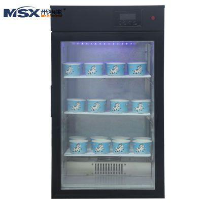 米沙熊 Misha商用酸奶机 家用立式酸奶发酵箱 黑色68L液晶屏按键