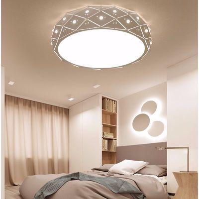 LED圆形吸顶灯遥控大气客厅灯具现代简约卧室灯阳台灯餐厅灯饰