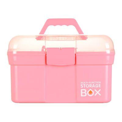药箱大号家庭用医用箱塑料医疗储物箱小号医药箱家用美甲收纳箱盒