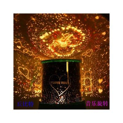创意家居装饰灯星空灯酒瓶灯ins小夜灯氛围灯生日礼物送女友男友【3月6日发完】