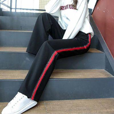 女士休闲服春季背带裤卡其色子连体夏针织牛仔哈伦萝卜装新款西套