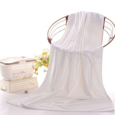 小孩毛巾纯棉洗澡衣服女大浴成人森脸沐美容院包头长婴儿一次性白