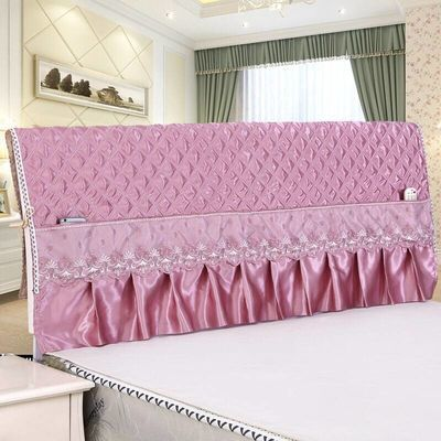 床头罩套靠背单防尘加裙包沙发垫柜子皮儿童欧式公主风桌电火炉全