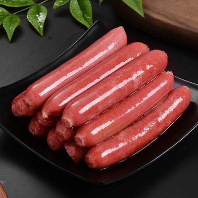 热狗肠50根1.9kg台湾风味香肠批发火山石烤肠手抓饼地道肠火腿肠
