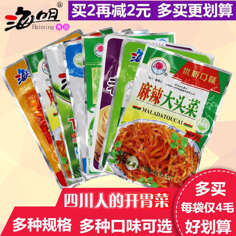 四川麻辣大头菜丝 麻辣下饭菜 学生榨菜 开胃菜萝卜干海带丝酸菜