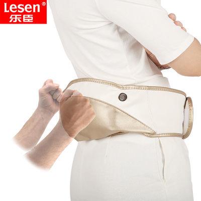 腰部按摩器电动捶打热敷腰椎腰疼仪颈部肩部全身家用腰椎间盘突出