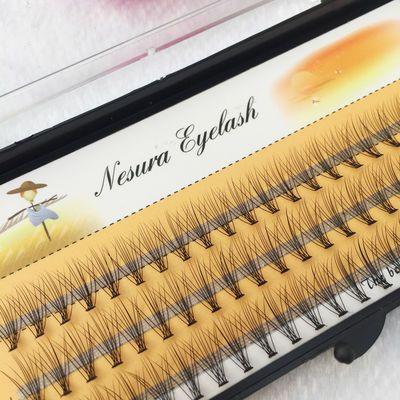 韩国热卖稻草人10根0.1粗朵毛自己嫁接种植上假眼睫毛浓密自然