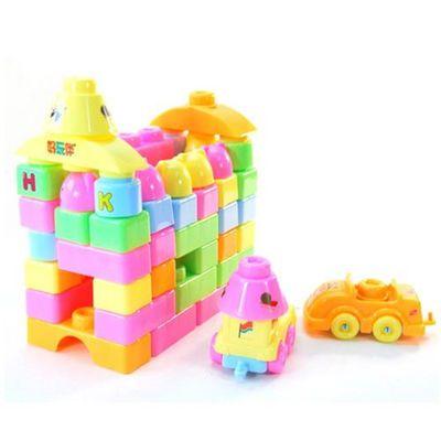 热款Crown/皇冠宝乐大积木70片积木包儿童组装拼插玩具E5201