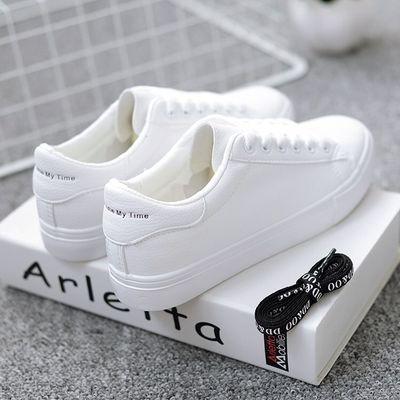 男童小白鞋休闲鞋女童运动鞋春秋季中小学生跑步鞋童鞋平底跑步鞋