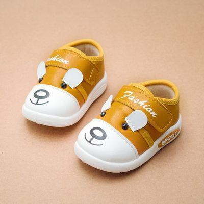 春秋二棉 小童软底防滑学步鞋男女童婴儿鞋透气0-2岁宝宝鞋