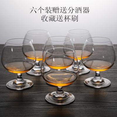 矮脚水晶玻璃威士忌杯洋酒杯啤酒白酒烈酒白兰地杯家用分酒器套装