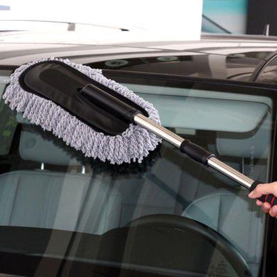 新品汽车蜡刷扫灰除尘擦车掸蜡拖洗车拖把洗车拖把刷子车掸除雪清