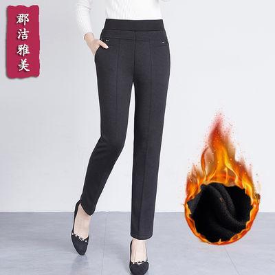 【加绒加厚】2018新款中老年女裤冬季妈妈长裤宽松裤子休闲裤外穿
