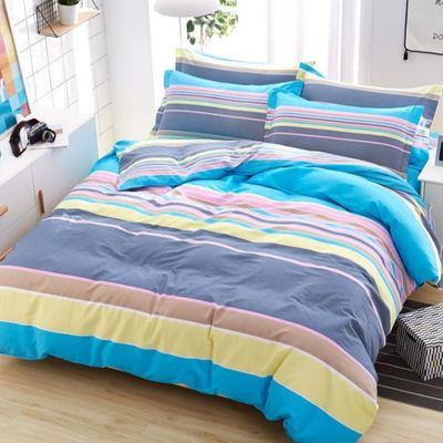 多品全棉四件套纯棉床上用品被套床单4件套