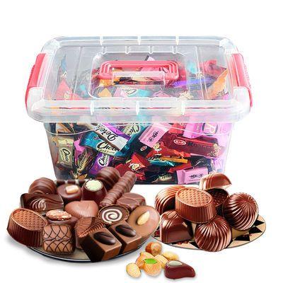 【百万销量】巧克力1000g超实惠/500g带收纳盒/200g体验 多款口味