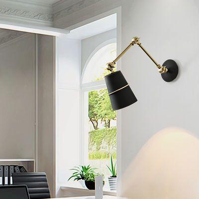 卧室床头书房折叠摇臂护眼壁灯阅读可伸缩客厅灯创意个性时尚玄关