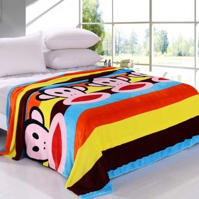 加绒厚床裙沙发毛巾单薄毯双人被套潮牌羊羔子面抱婴儿纯棉花罩大