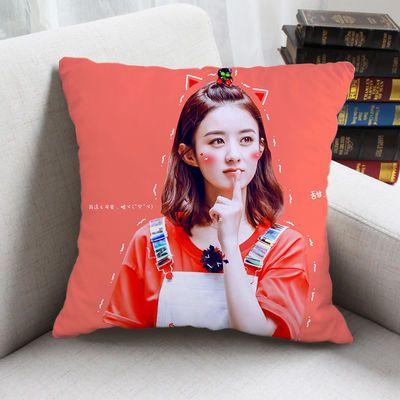 赵丽颖抱枕明星周边同款靠垫 DIY来图定制定做照片学生生日礼物
