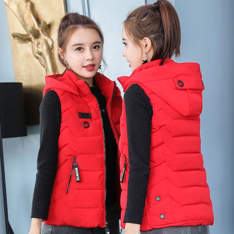 Womens Casual Wool Blend Waistcoat Vest jacket Sleeveless Thicken Cardigan Vest