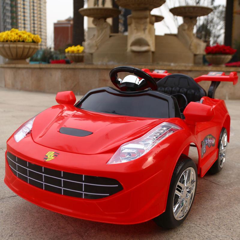 婴儿童电动车四轮可坐人1-3岁4-5岁小孩玩具车带遥控男女宝宝童车