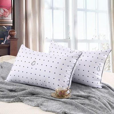 成人单人枕芯一对装单个宾馆白色枕头宿舍用一个48/74单人枕头芯