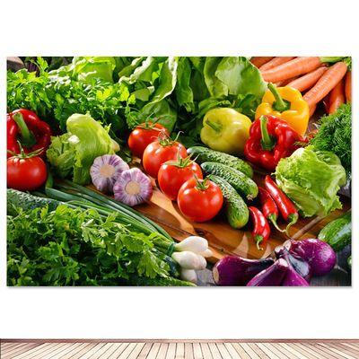 蔬菜水果超市海报墙贴装饰画餐厅水果店厨房自粘海报贴画大幅定制