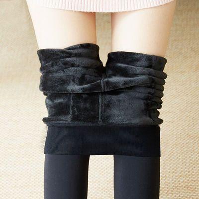 【200克300克】秋冬款加绒加厚打底裤保暖踩脚外穿显瘦一体裤