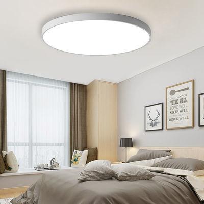 LED吸顶灯圆形客厅灯简约现代大气家用超薄卧室餐阳台走道玄关灯