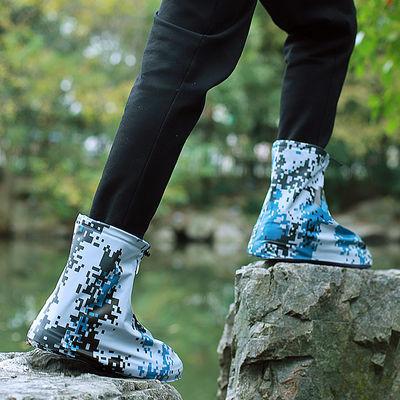 加厚耐磨雨鞋男女防雨鞋套防滑成人户外防水鞋下雨天防水鞋套儿童