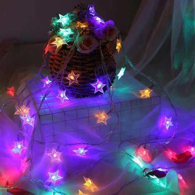 满天星灯串户外防水LED彩灯闪灯串灯圣诞商场亮化工程过年装饰灯