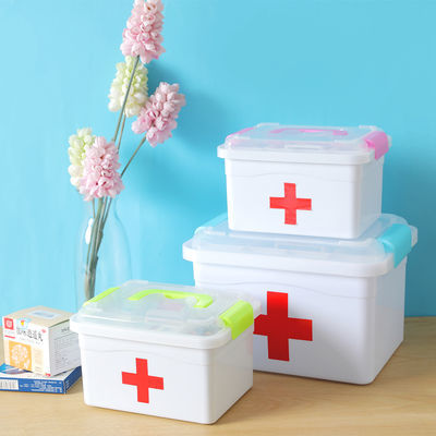 医药箱家用大号急救小药箱家庭医疗箱药品收纳盒婴儿童放药装药盒