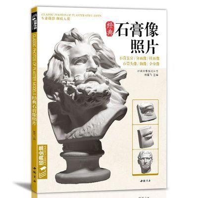 经典全集 石膏像照片书素描石膏五官头像照片书专业摄影品质
