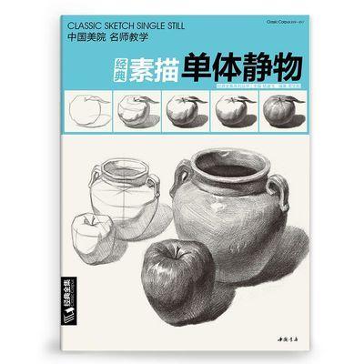 经典全集素描单体静物书结构联考临摹范本入门基础教学程材杨建飞