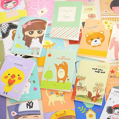 卡通记事本小本子便携小学生奖励奖品礼物随身笔记本文具迷你