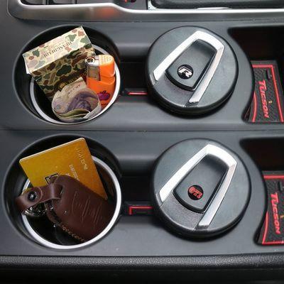 大众烟灰缸带灯 汽车专用高尔夫途昂捷达途安帕萨特车载烟灰缸