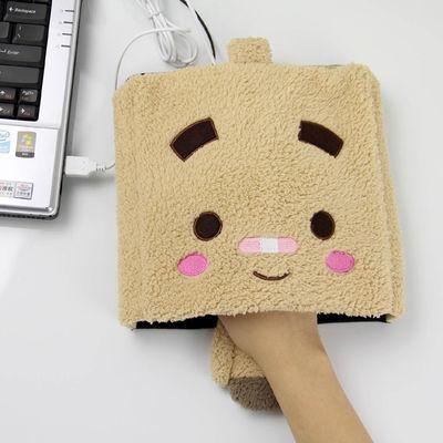 伊品堂张小盒系列USB保暖鼠标垫/暖手鼠标垫(多色随机)