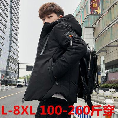 男士棉衣冬季2018新款青年韩版潮流加大码棉服冬装棉袄外套帅气