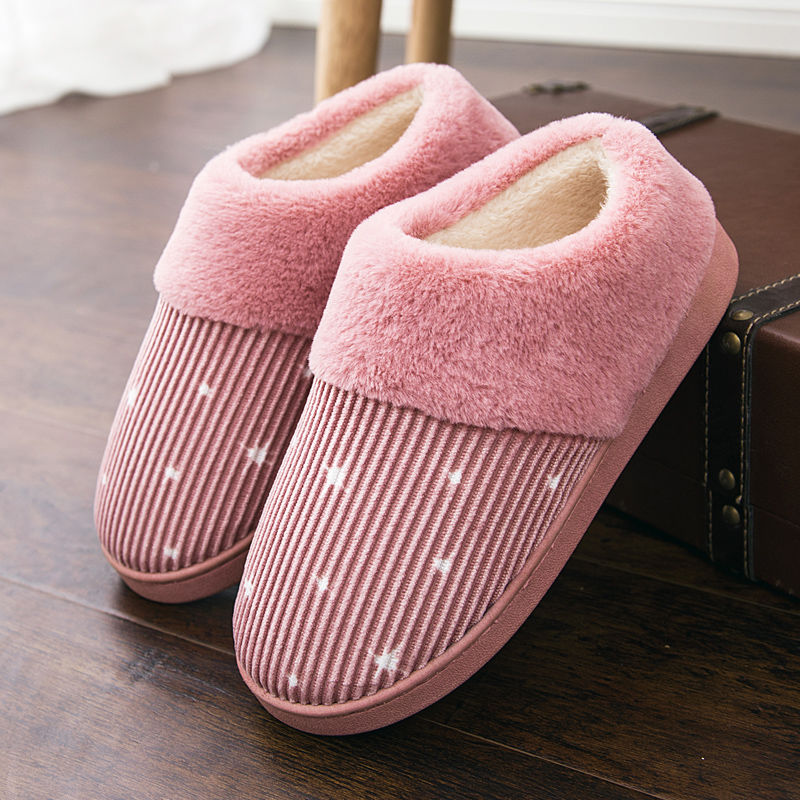 冬季棉拖鞋包跟女冬天居家室内内保暖棉鞋情侣棉拖鞋男月子鞋防滑