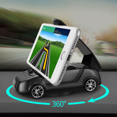 汽车手机架车载导航支架汽车用品车模手机架车载手机架360度旋转主图