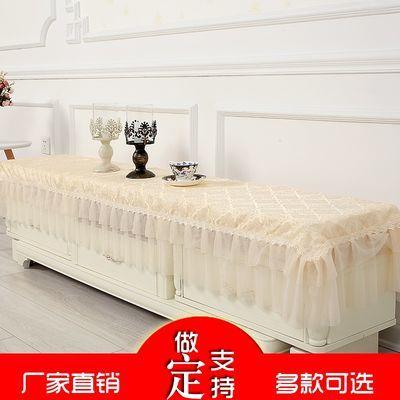 布床边长方形蕾丝电视柜盖巾万能盖巾柜台欧式布鞋柜万能防尘盖布