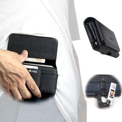 插卡手机腰包 多功能  穿皮带皮套 华为 苹果OPPO vivo 男士挂腰