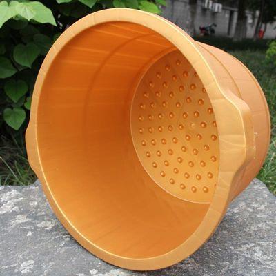 75977/耐摔熟胶足浴桶按摩足浴盆泡脚桶塑料洗脚盆沐足桶足浴盆非木桶