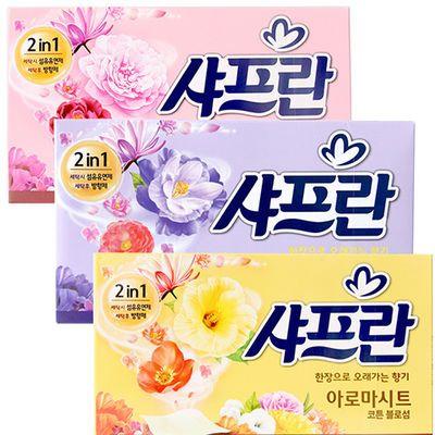 韩国正品LG香纸衣物柔顺花香护理剂防静电持久留香空气清新香纸抽